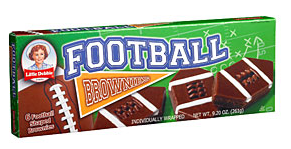 Footballbrownies
