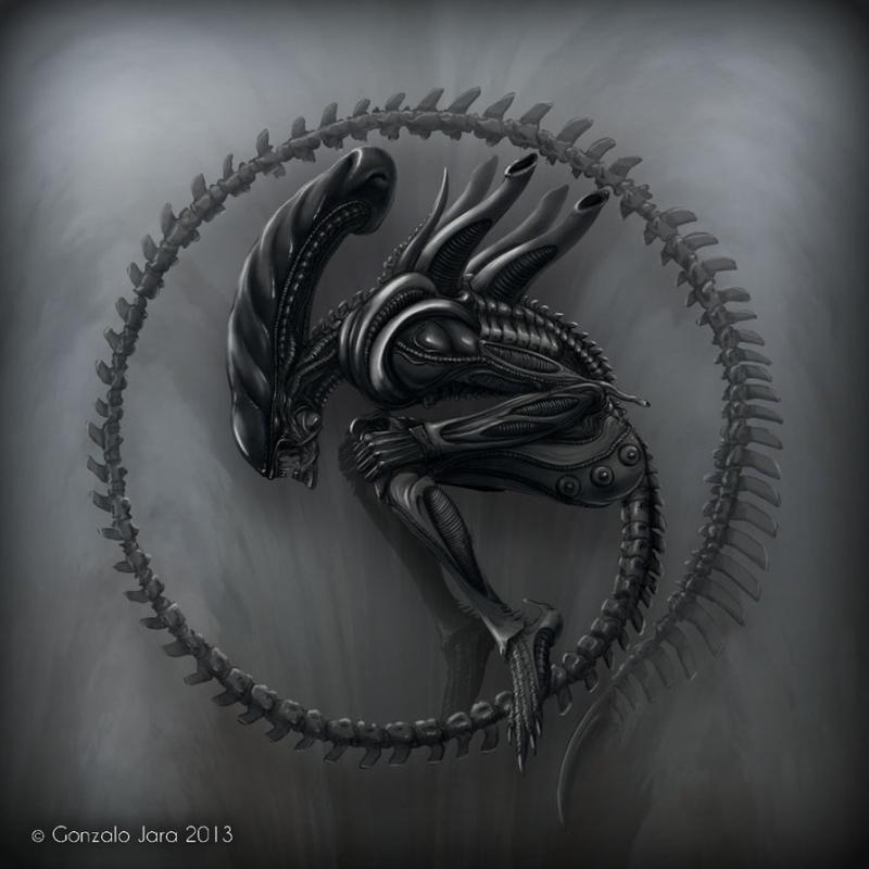 Xenomorph_by_topgon-d5sfb0f